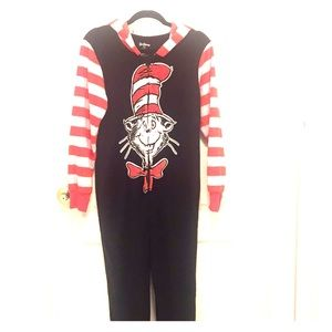Dr Seuss fleece onesie